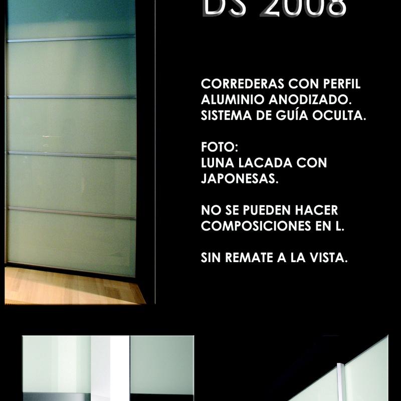 FRENTE CORREDERO DS 2008: CATALOGO  de Altxa