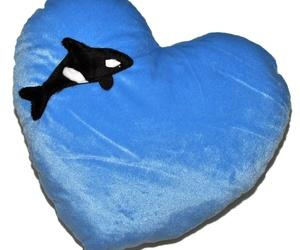 Cojín Corazón Orca / Whale Heart Cushion