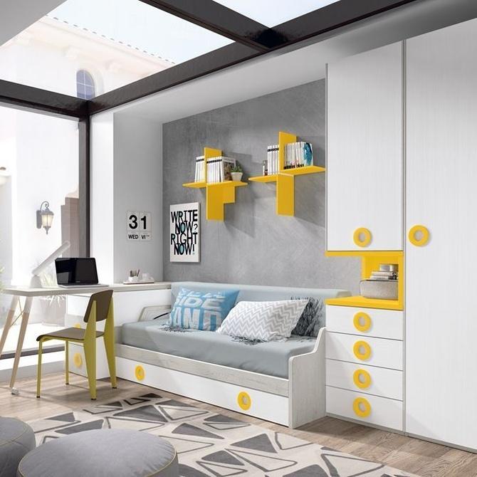 Consejos para elegir habitaciones juveniles