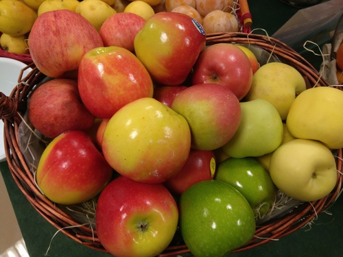 centro de manzanas Frutas Paula