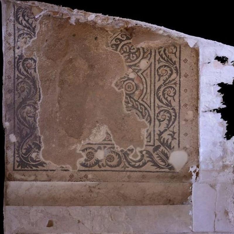 Pasillo meridional del Peristilo: Turismo arqueológico de Villa Romana de Salar