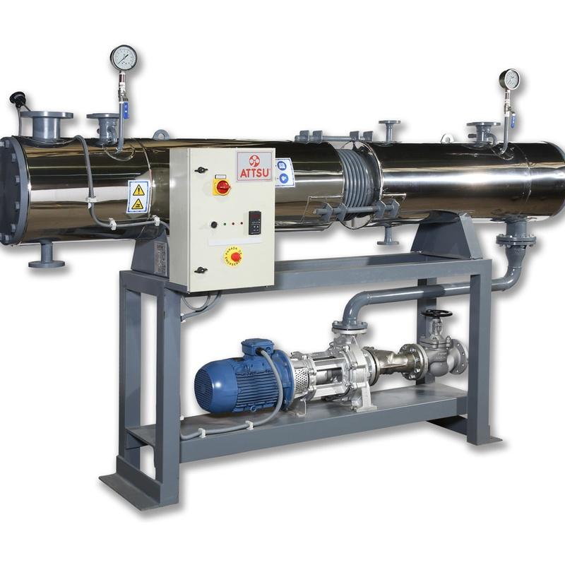 Otros equipos de aceite térmico: Productos y servicios de ATTSU TEYVI