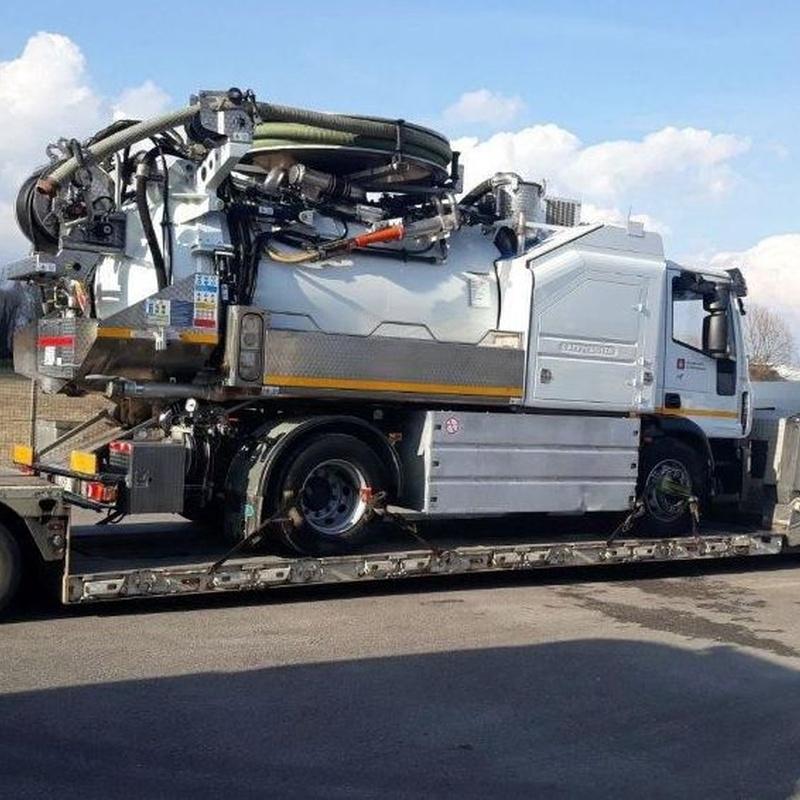 Transportes especiales internacionales en Zaragoza