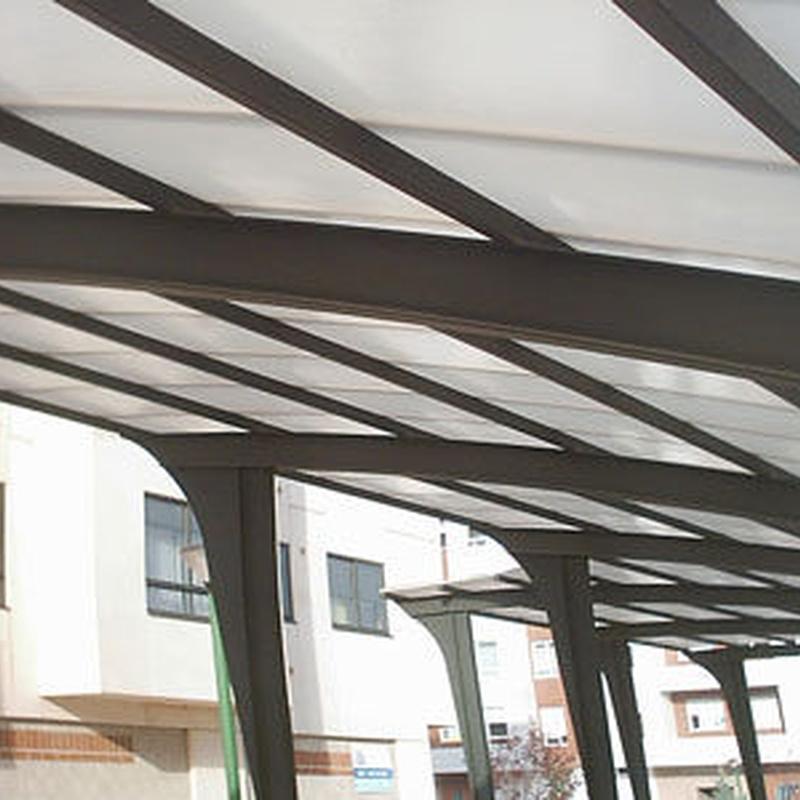 Cubiertas de tejado: Catálogo de M. Ramos, S.L.