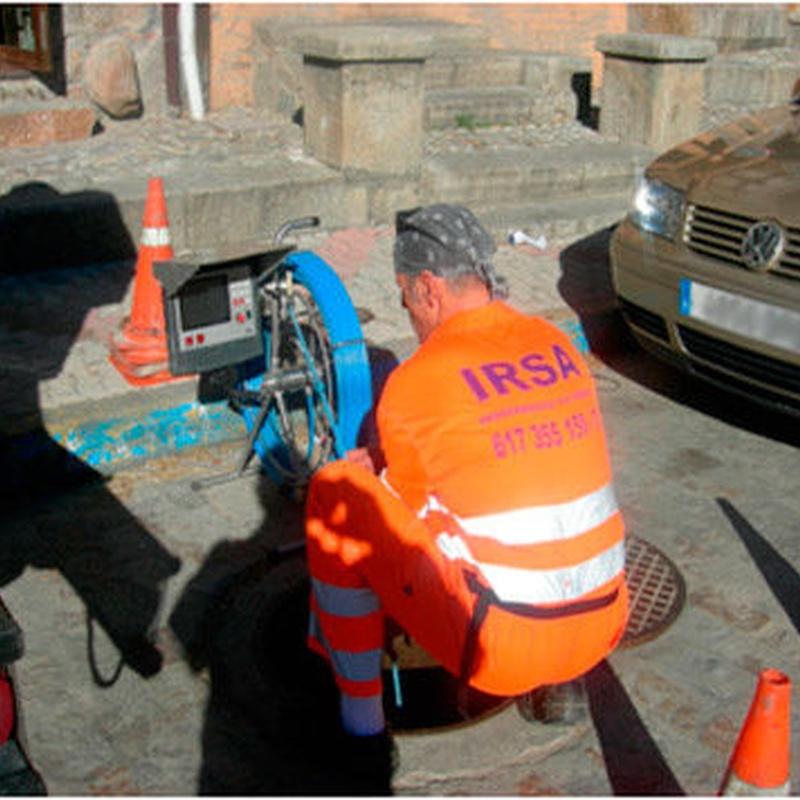 Inspección CCTV: Servicios de Irsa - Desatrancos La Adrada
