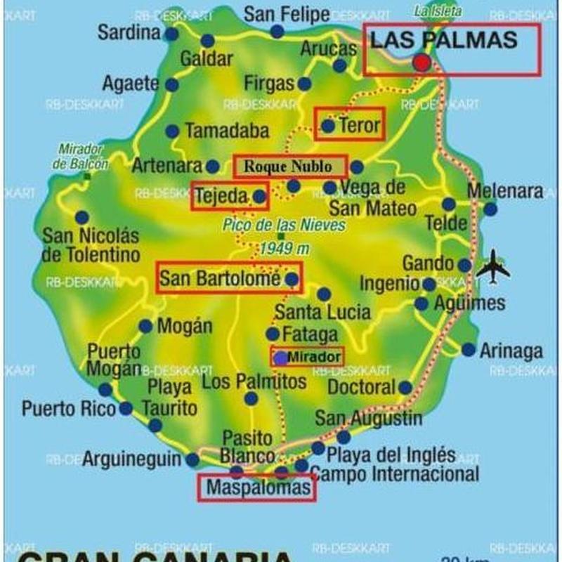 Toors & Excurciones por Gran Canaria