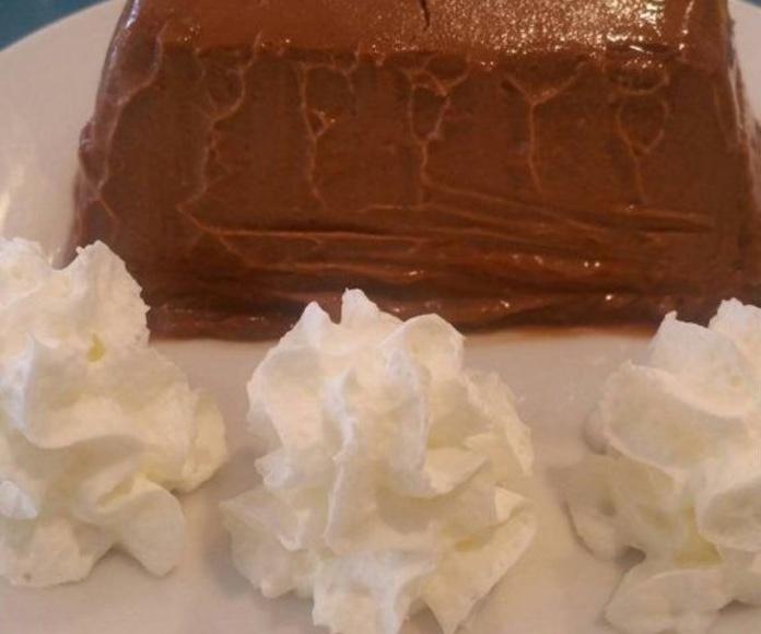 Quesillo de chocolate: Nuestros platos  de Restaurante La Ksona