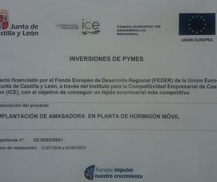 PLANTA MÓVIL Y AMASADORA PARA HORMIGÓN