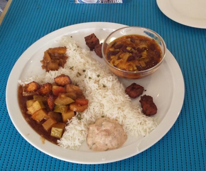 Platos flexitarianos: Nuestra carta de Restaurante Levante