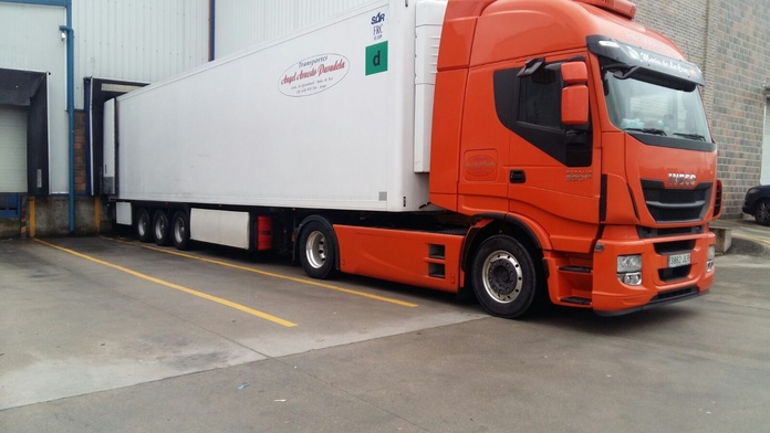Transporte frigorífico: Servicios de Trans. Armesto Arango, S. L.