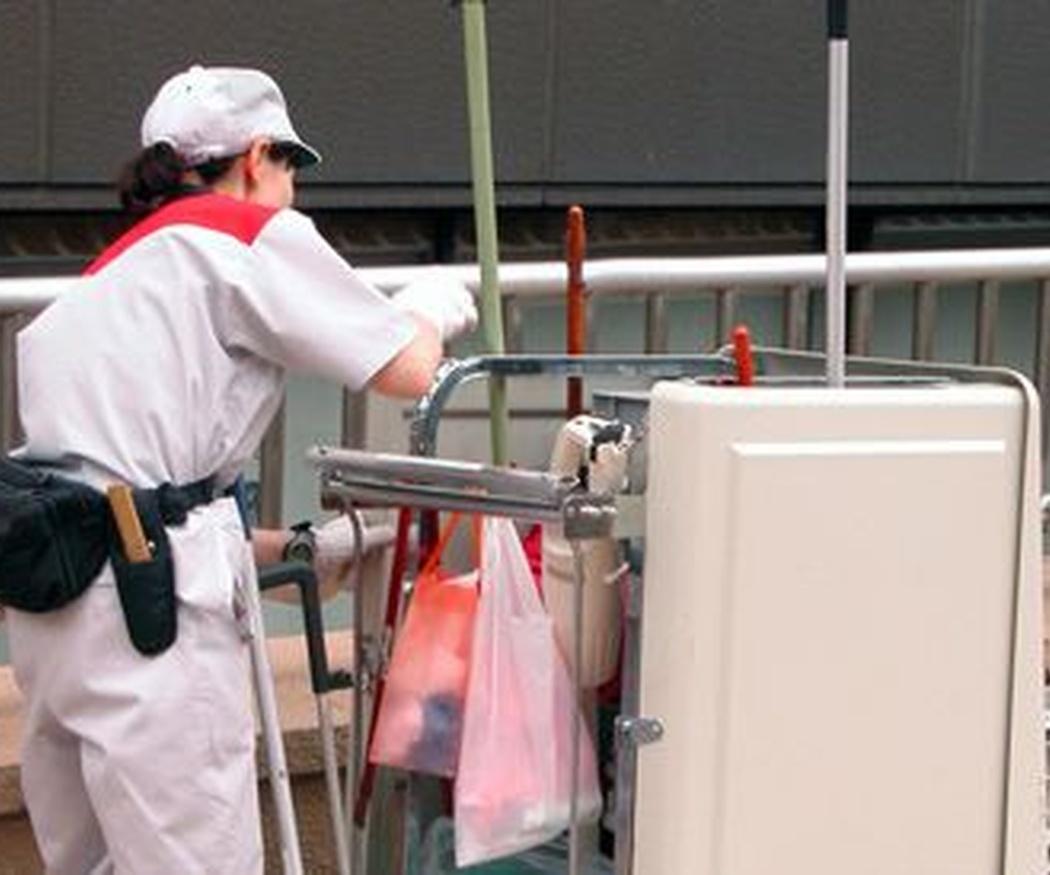 Contratar una empresa de limpieza