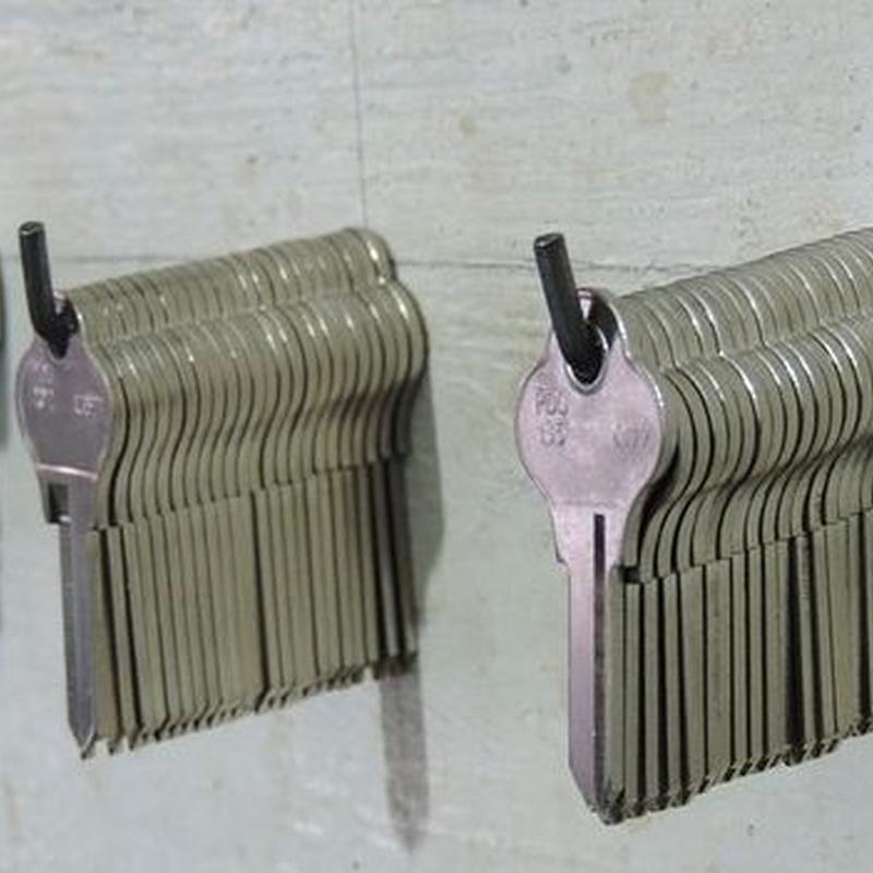 Copia de llaves: Servicios de La Fábrica