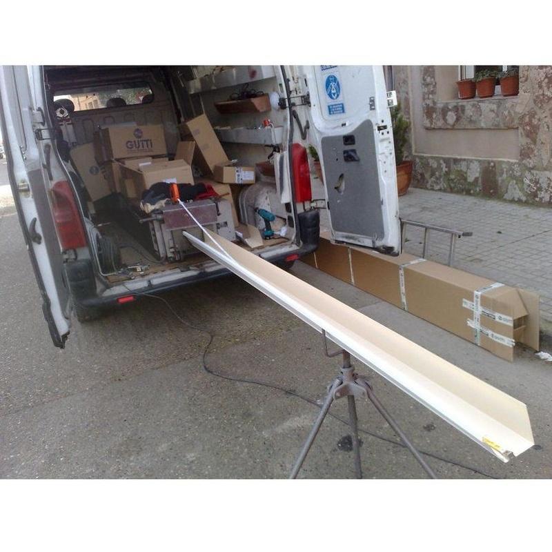 Bajantes: Muestra de productos de Aragonesa de Canales