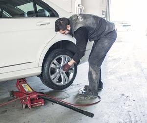 Cambio de neumáticos en A Coruña