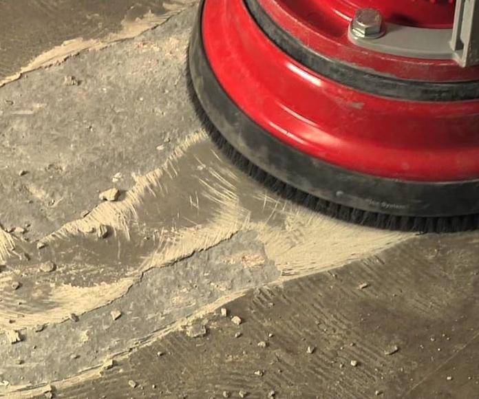Pulido y abrillantado de suelos