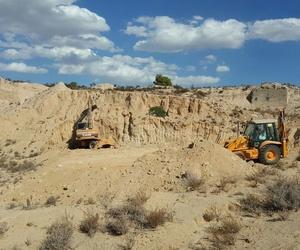 Trabajos de planificación de terrenos en Murcia