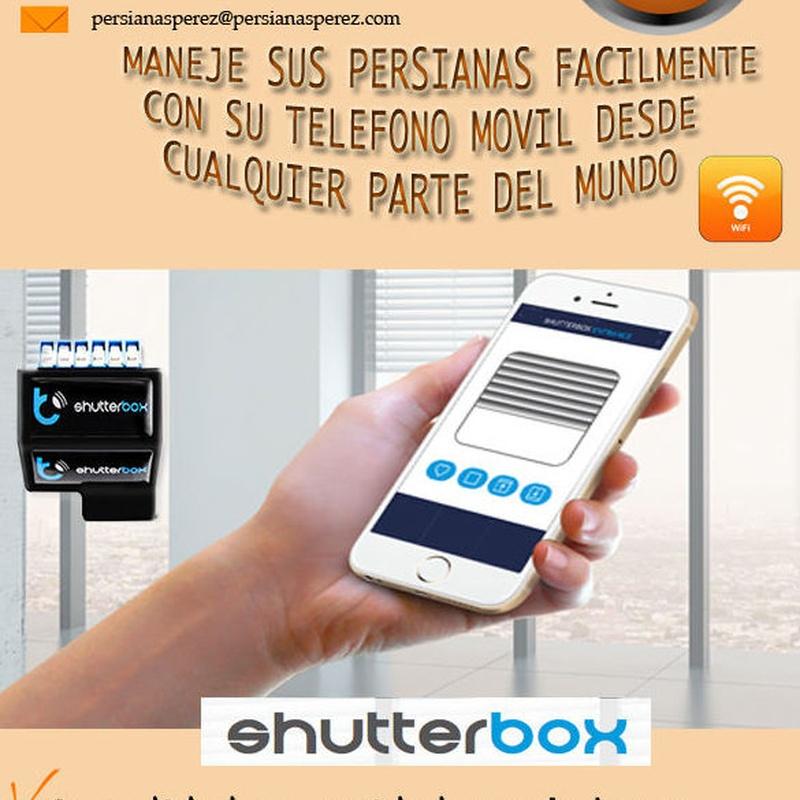 ShutterBox para persianas