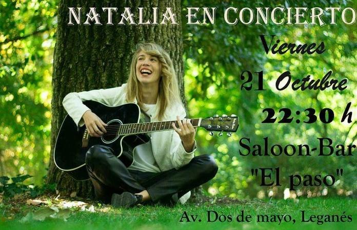 Natalia en concierto