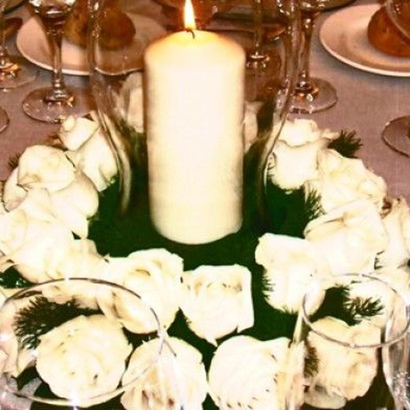 Decoración para eventos: Servicios de Floristería Abolengo