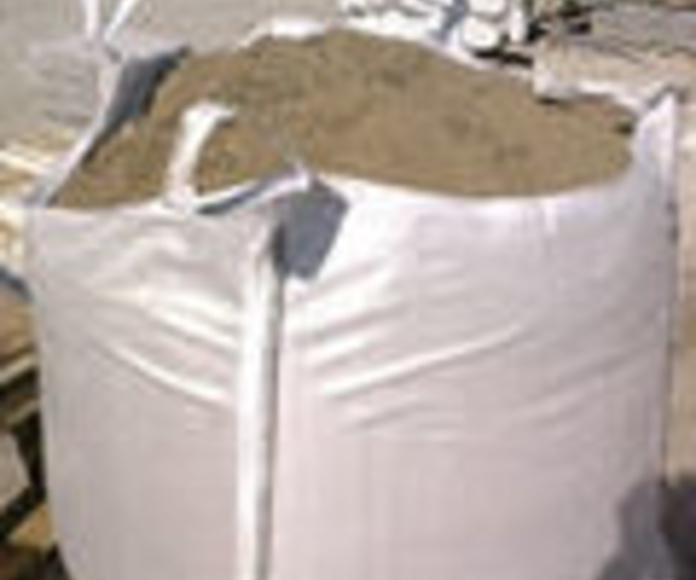 Áridos: Materiales de construcción de F. Campanero Materiales Construcción, S.L.