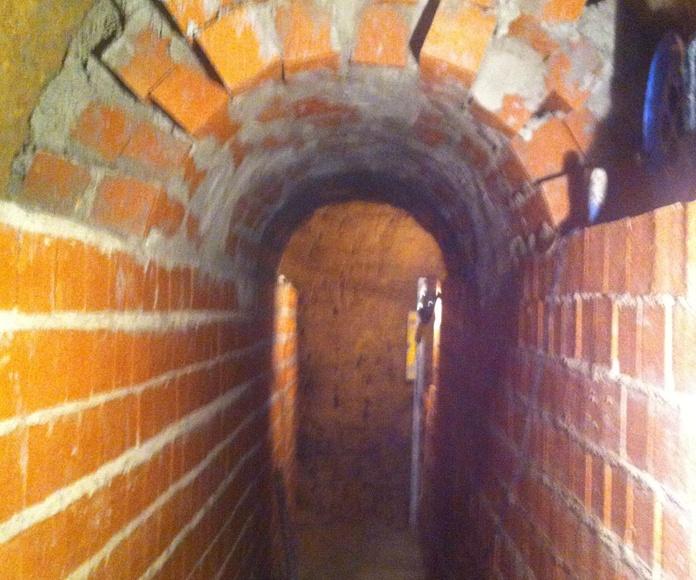 Empresa de reparacion de poceria Hijon, reparación galerias de acometida