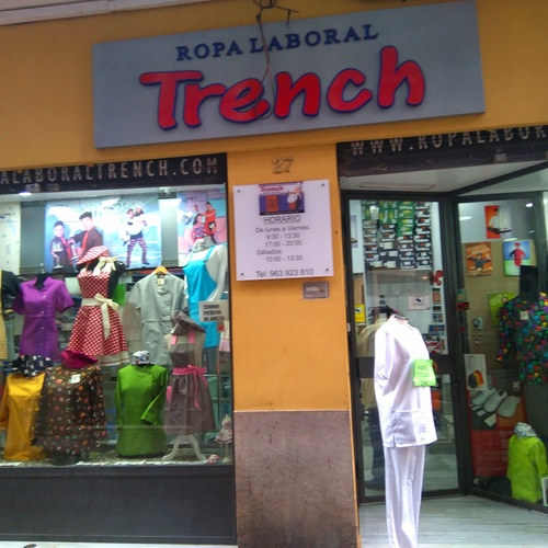 Ropa Laboral Trench