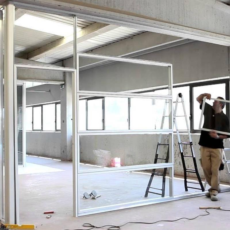 Carpintería de aluminio: Productos de Cristalerías Felipe II