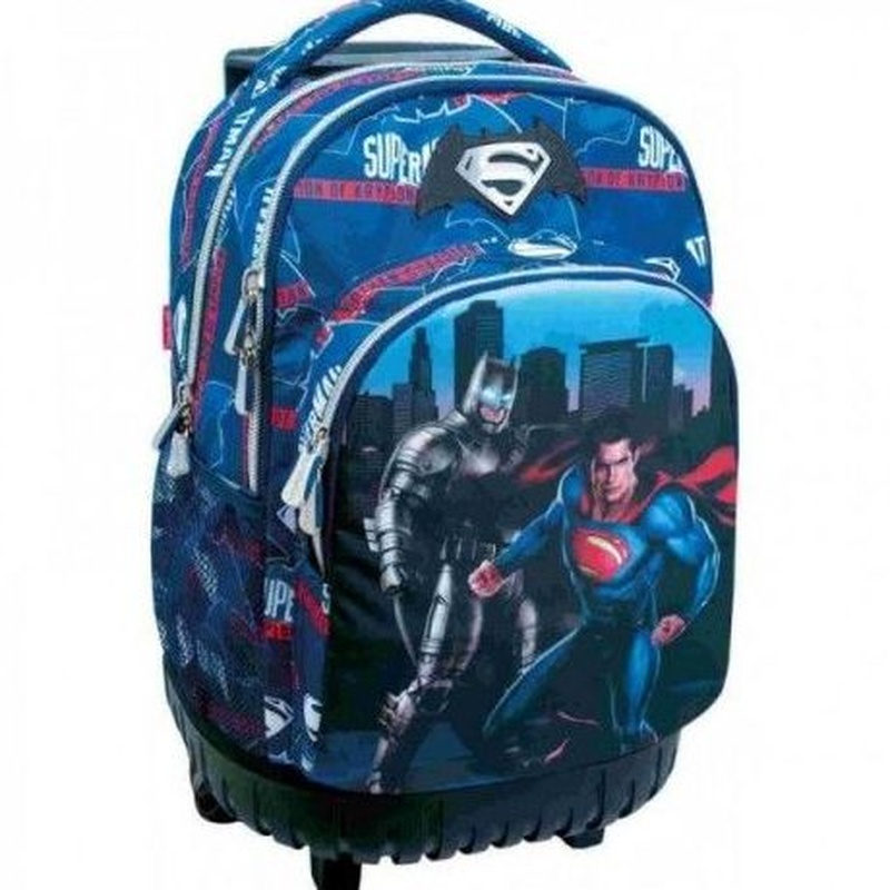 Mochila Batman & Superman carro fijo 8412782273008. Sport tandem