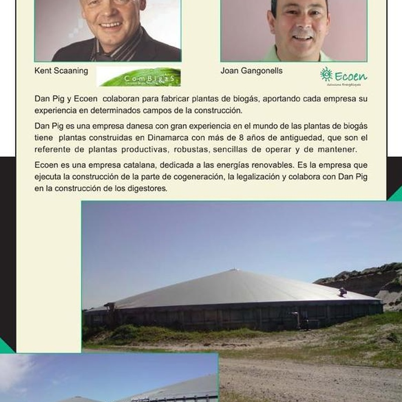 Biogas: Productos y servicios de Ecoen Solucions Energètiques