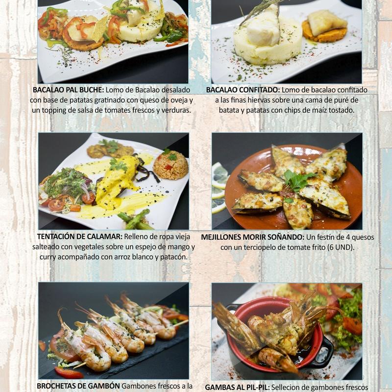 Pescados: Carta de Restaurante Pal-buche