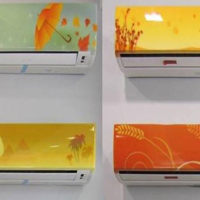 Vinilos decorativos para el aire acondicionado