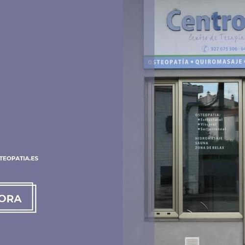 Quiromasaje y osteopatía en Montehermoso | Centro Vital