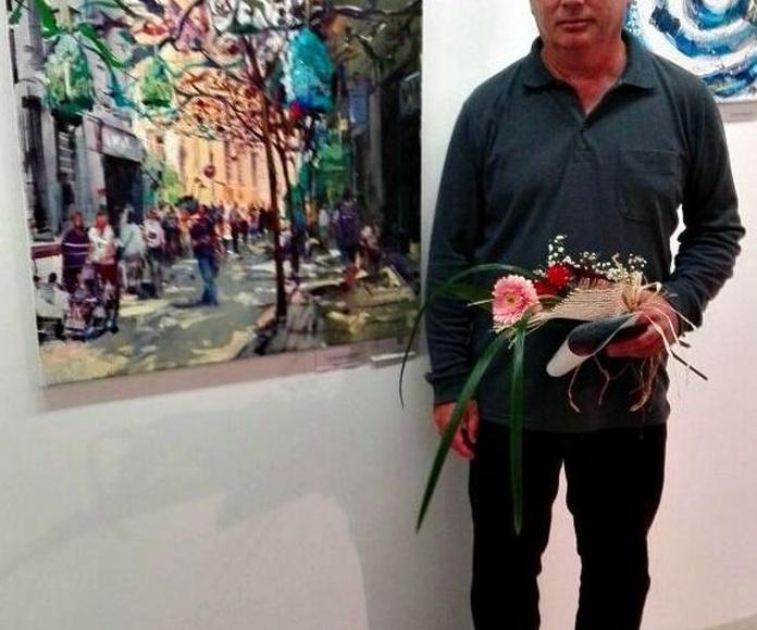 Primera Mención de Honor Julio Garcia