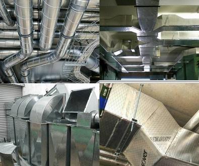 Conductos y ventilación