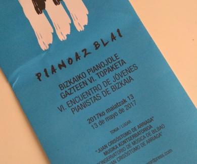 """Cuarto año de presencia de CEM Nerea Bilbao en """"Pianoaz Blai"""""""