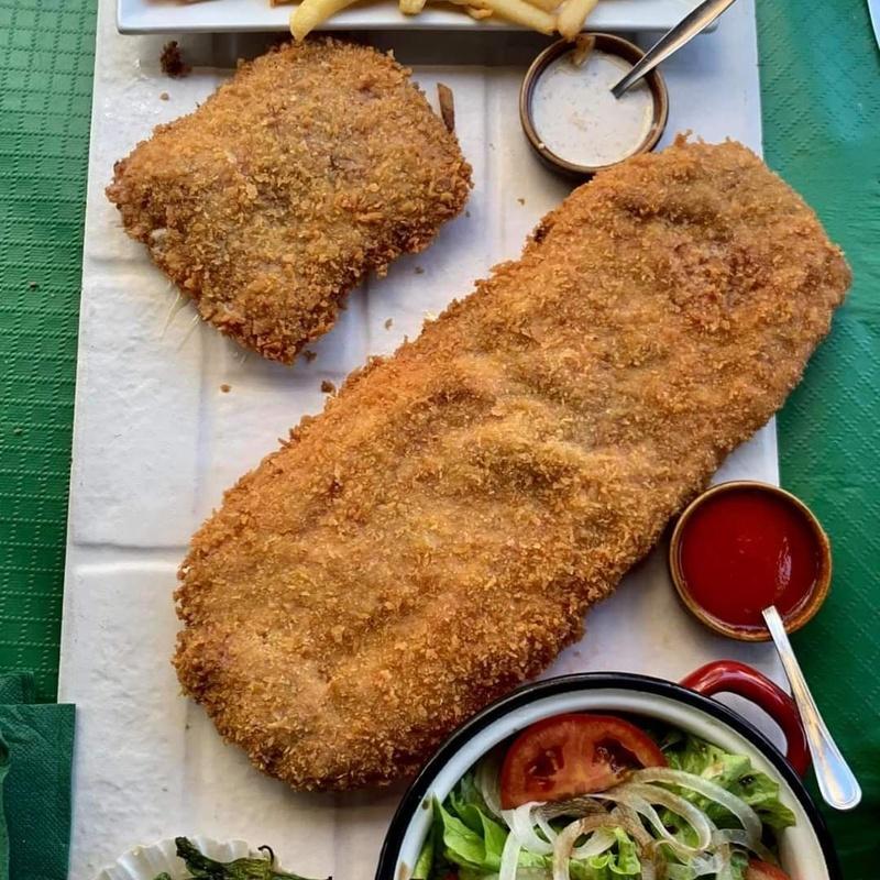 Cachopo Sixtino  ¡Nuestro campeón! : Nuestros platos de La Cantina Sixtina