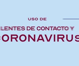 Uso de lentes de contacto con el Coronavirus