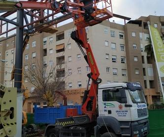 Tráiler grúa 60 Tn: Servicios de Transportes y Grúas Galván - Alquileres Galván