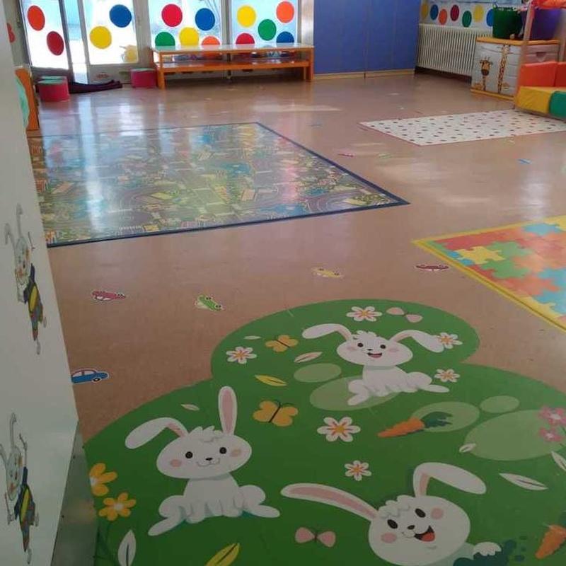 """La Clase de los """"Conejos"""" - de 1 a 2 años: Servicios de Llar d'Infants Patufet"""