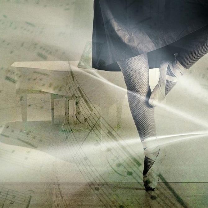¿Cómo son las zapatillas de danza clásica?