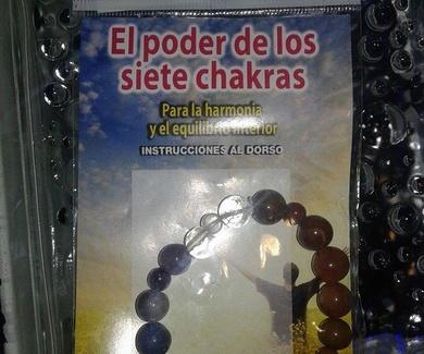 Pulsera chakras