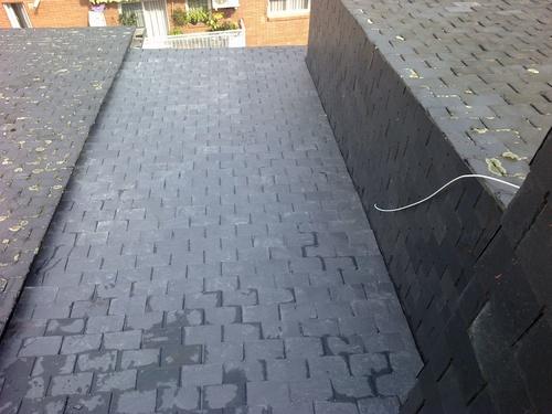 Colocación y reparaciones de tejados de pizarra, teja y canalones. Cubiertas y terrazas
