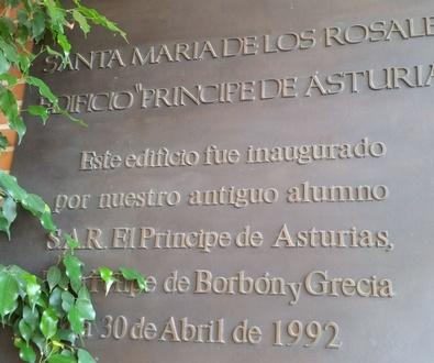 Restauración aula Magna colegio Sta. Mª de los Rosales-Aravaca