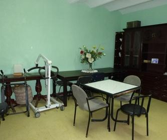 Válidos y Asistidos: Residencia Geriatrica de Residencia El Jardín