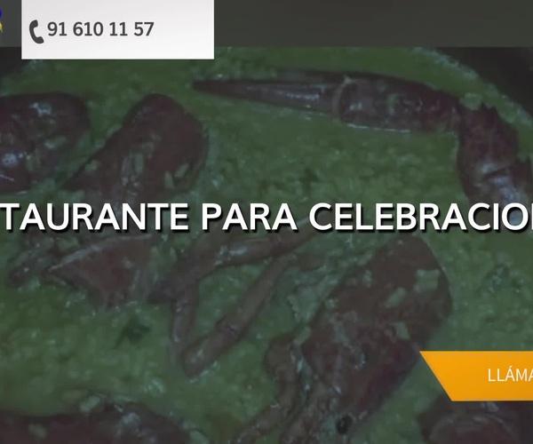 Restaurantes para celebraciones en Alcorcón