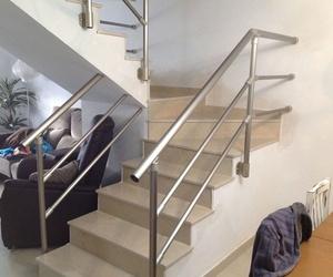 Barandillas de escalera interiores de aluminio