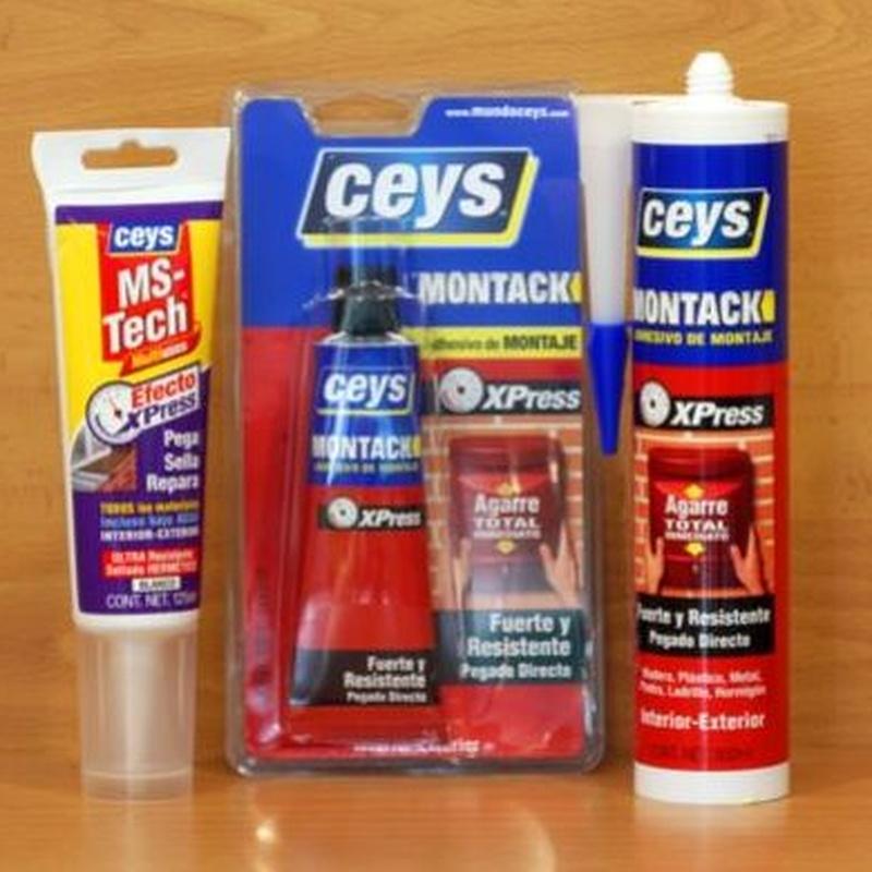 Adhesivos de montaje: Productos de Ferretería Baudilio
