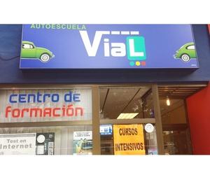 Fachada de la autoescuela en Logroño
