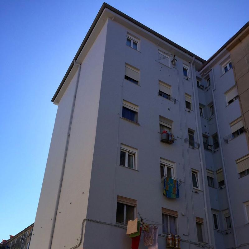 Rehabilitación de fachadas con aislamiento anticondensación