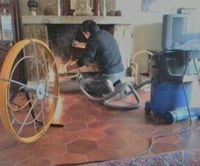 limpieza chimenea